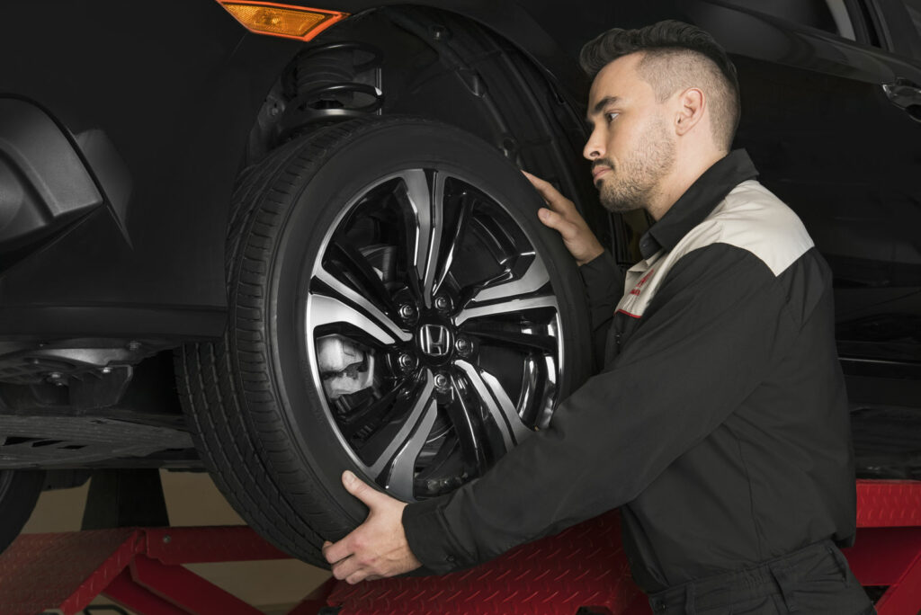 Honda Tire Inspection